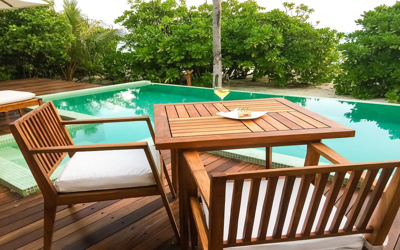 Beach Pool Villa - Deck (2)