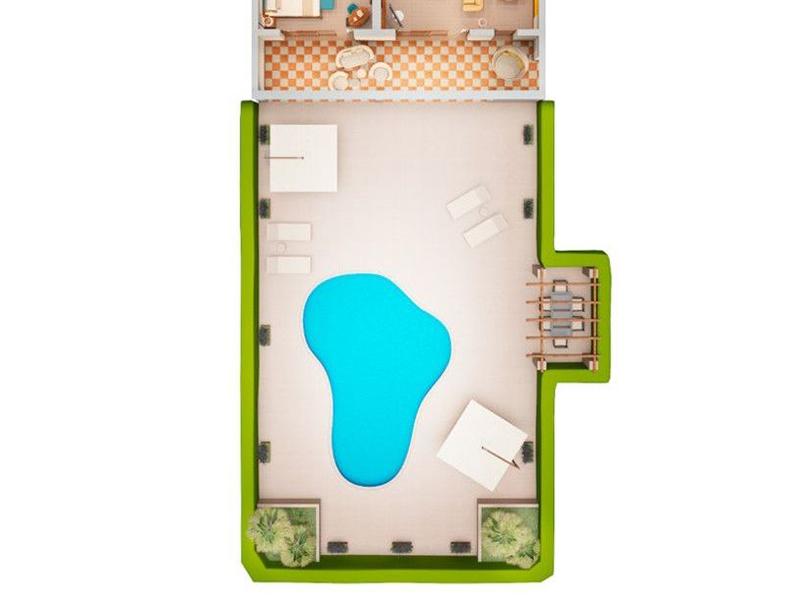 Blue Oasis Suite4