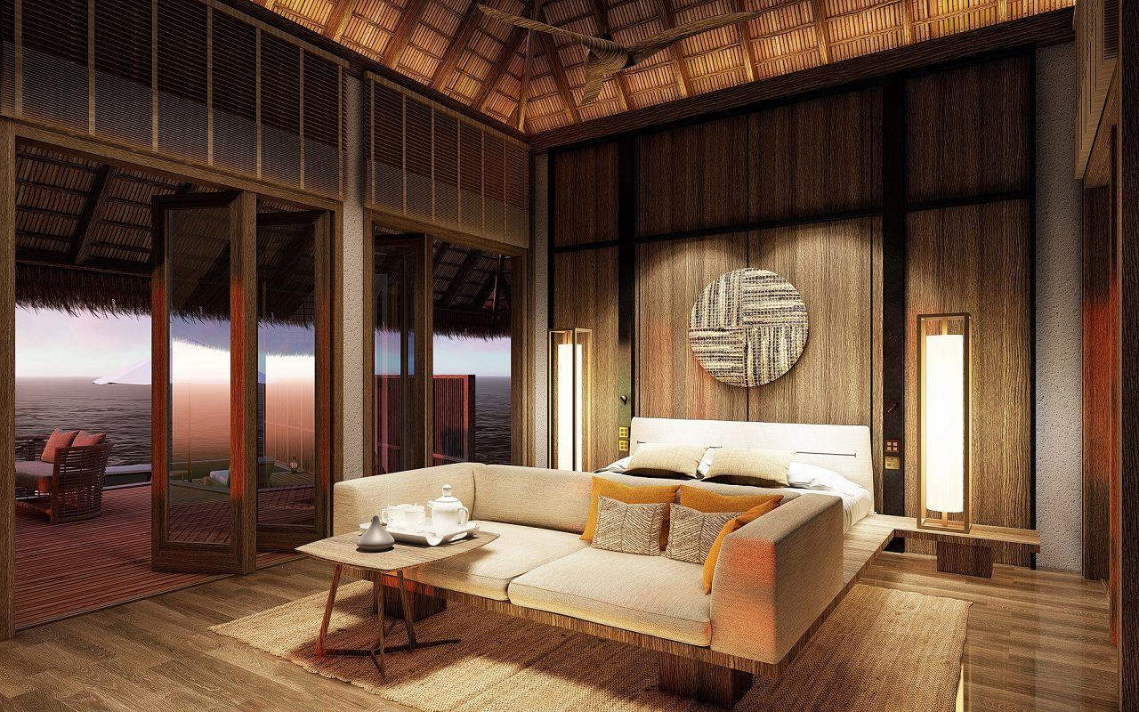 CM_2_Bedroom Grand Water Villa_master bedroom_LR