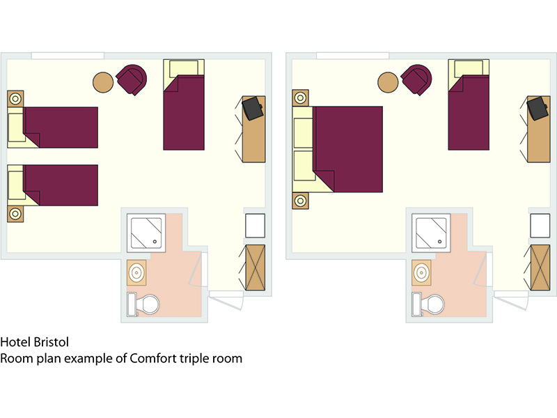 Comfort Double room with extra bed3