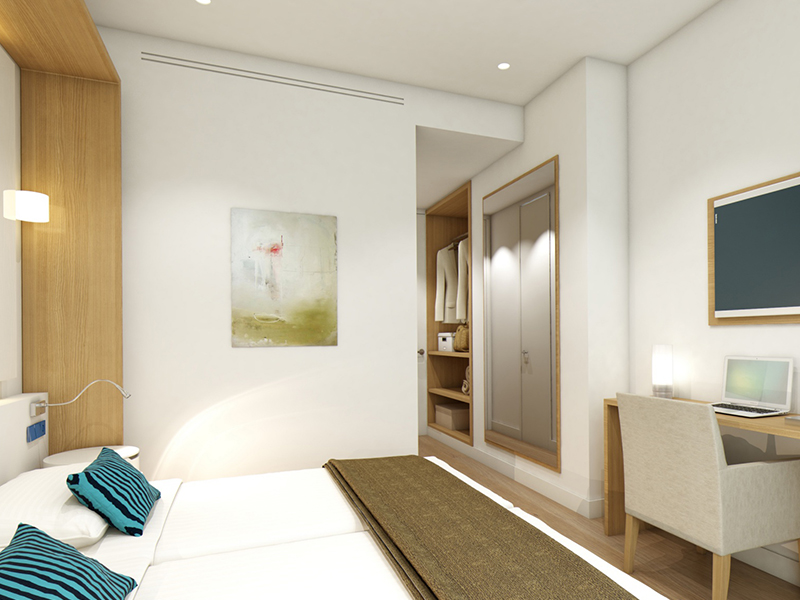 DOUBLE ROOM IN SECOND 2