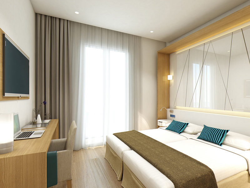 DOUBLE ROOM IN SECOND