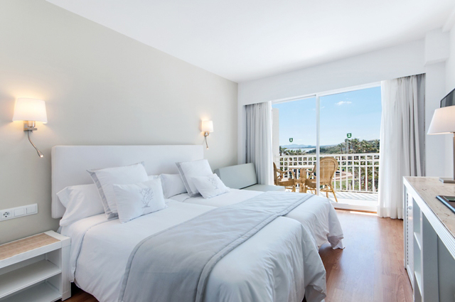 DOUBLE ROOM SINGLE USE LATERAL SEA VIEW