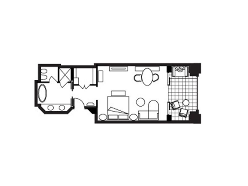 Deluxe City-View Room-plan