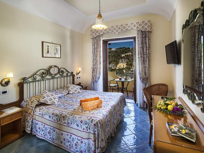 Double or Twin Room with Partial Sea View6-min