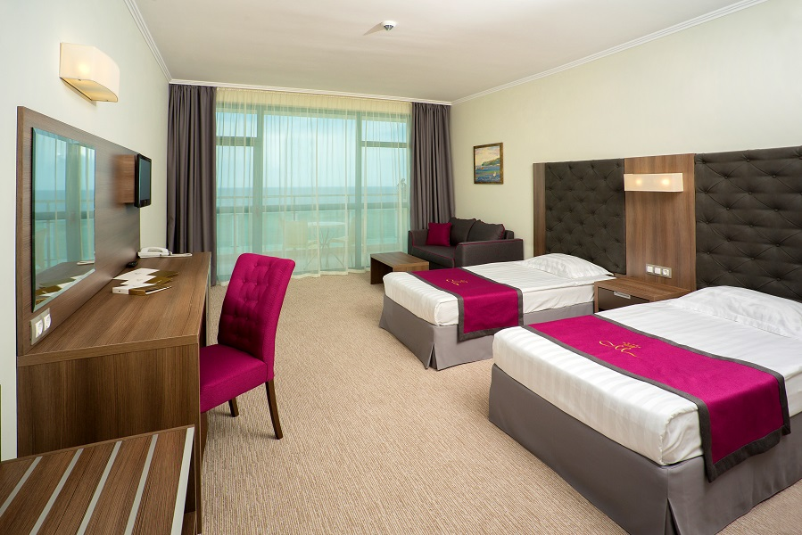 Double room sea view_twin beds