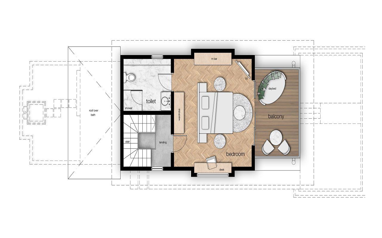 Z:MaafushivaruCadBeach Suite First floor plan (1)