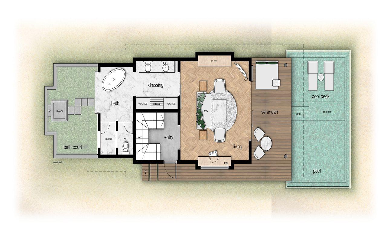 Z:MaafushivaruCadBeach Suite Ground floor plan (1)