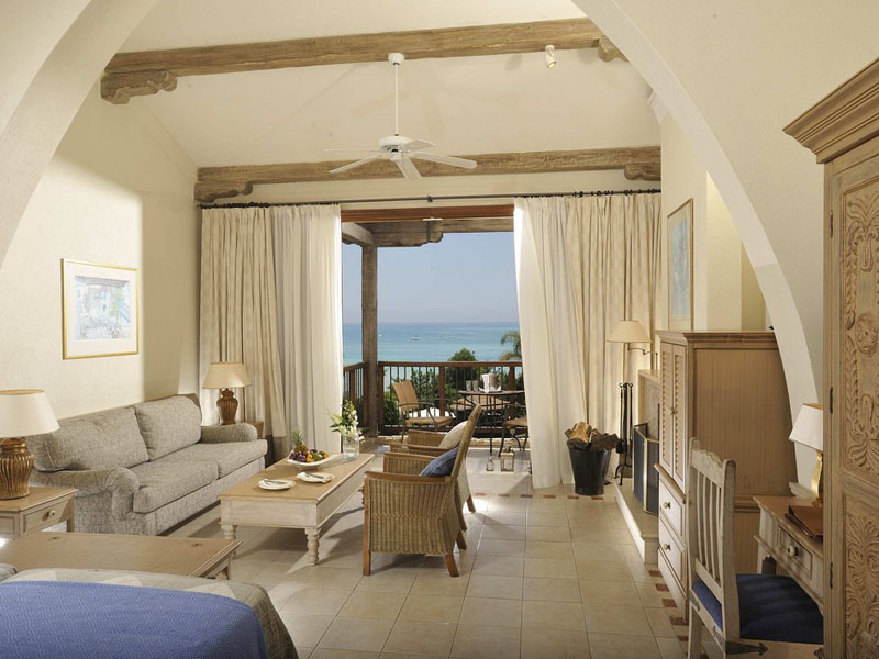 Executive Suite Sea View with fireplace