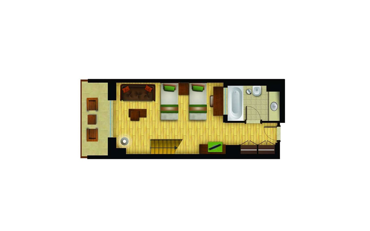 Family-Dublex-Forest-View-Room-(Sea)3-min