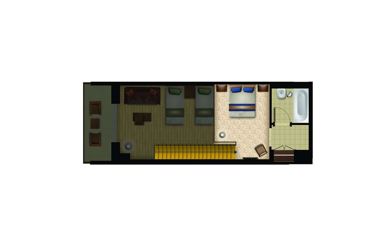Family-Dublex-Forest-View-Room-(Sea)4-min
