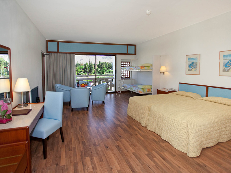 Family Inland View Room at St Raphael Resort