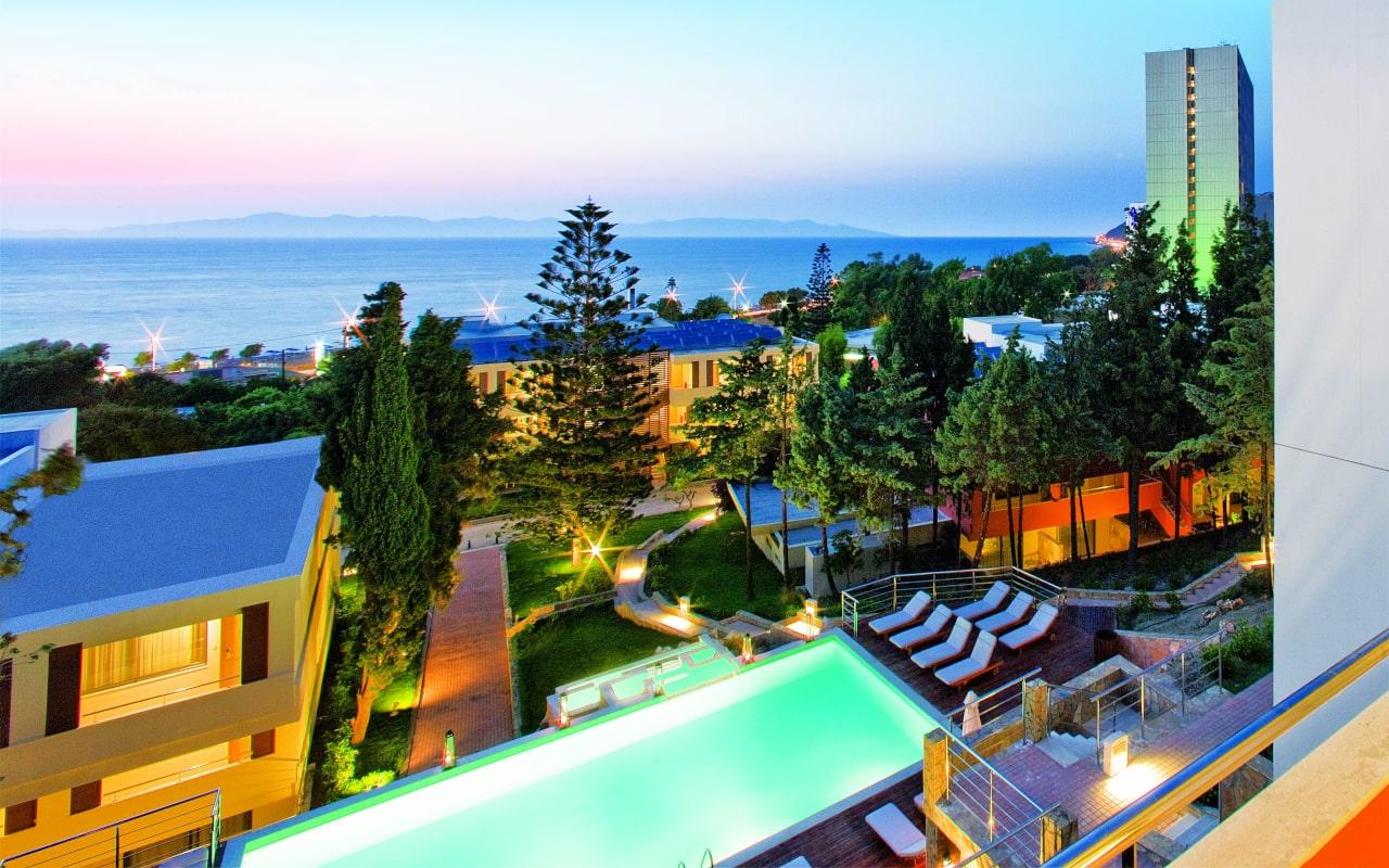 Garden Suites exterior view - Rodos Palace Hotel-min