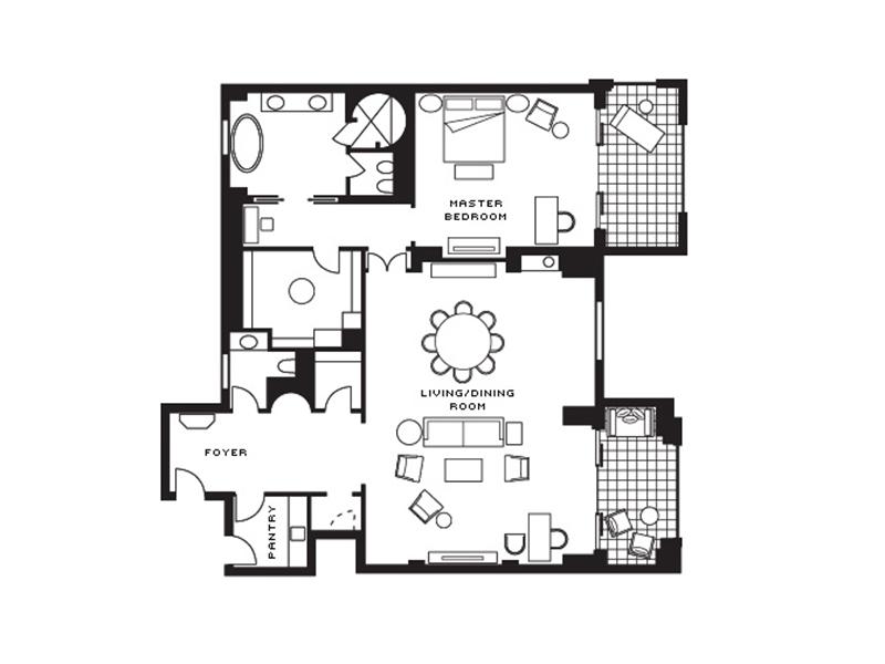 Imperial Suite-plan
