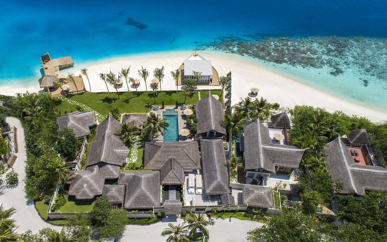 Jumeirah Vittaveli - Royal Residence - Aerial 01