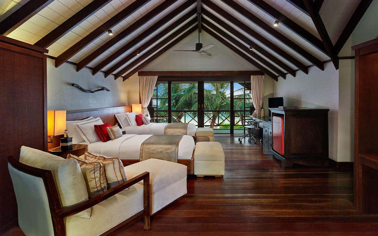 Jumeirah Vittaveli - Royal Residence - Guest House Twin Bedroom
