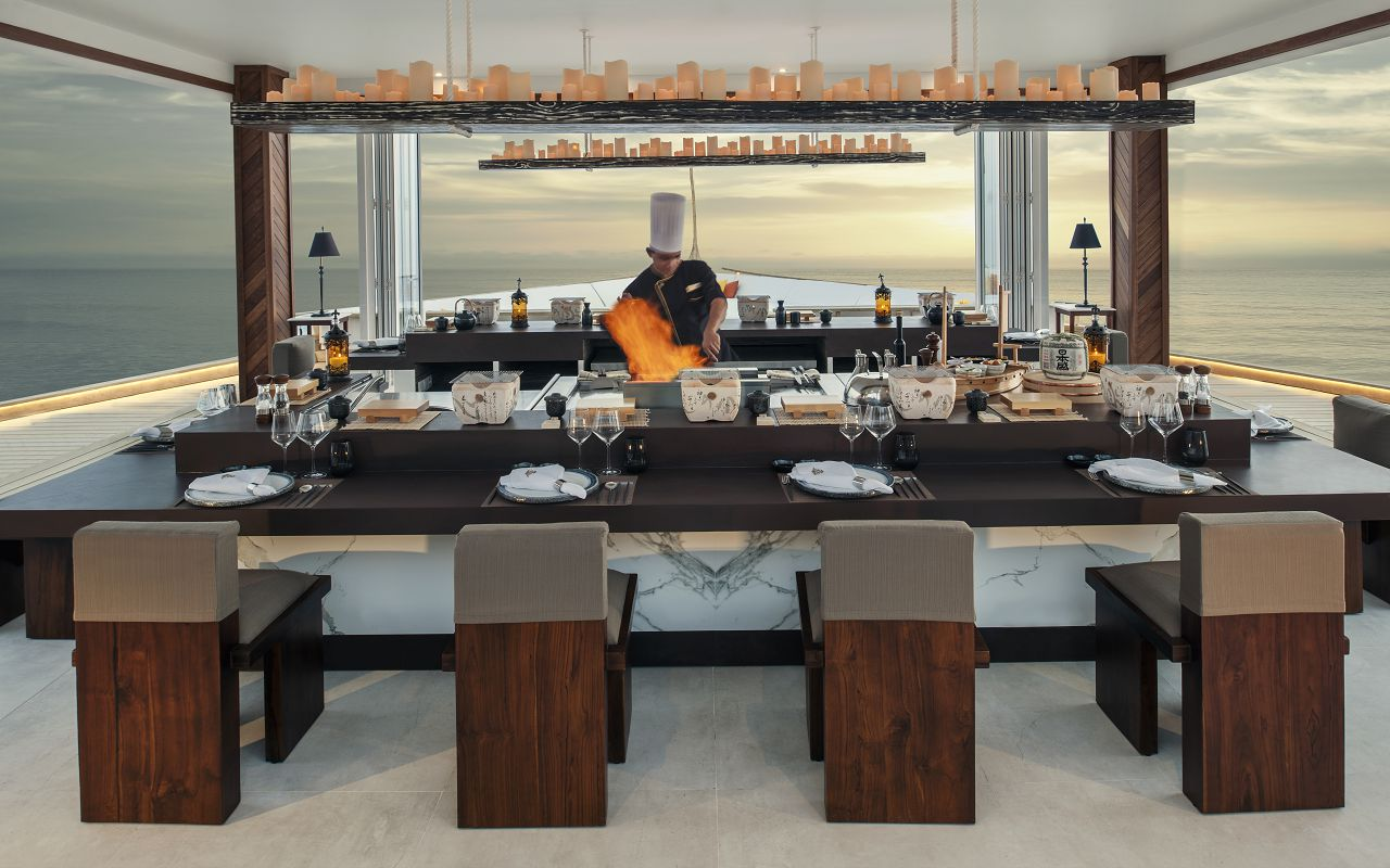 Jumeirah Vittaveli - Royal Residence - Restaurant 02
