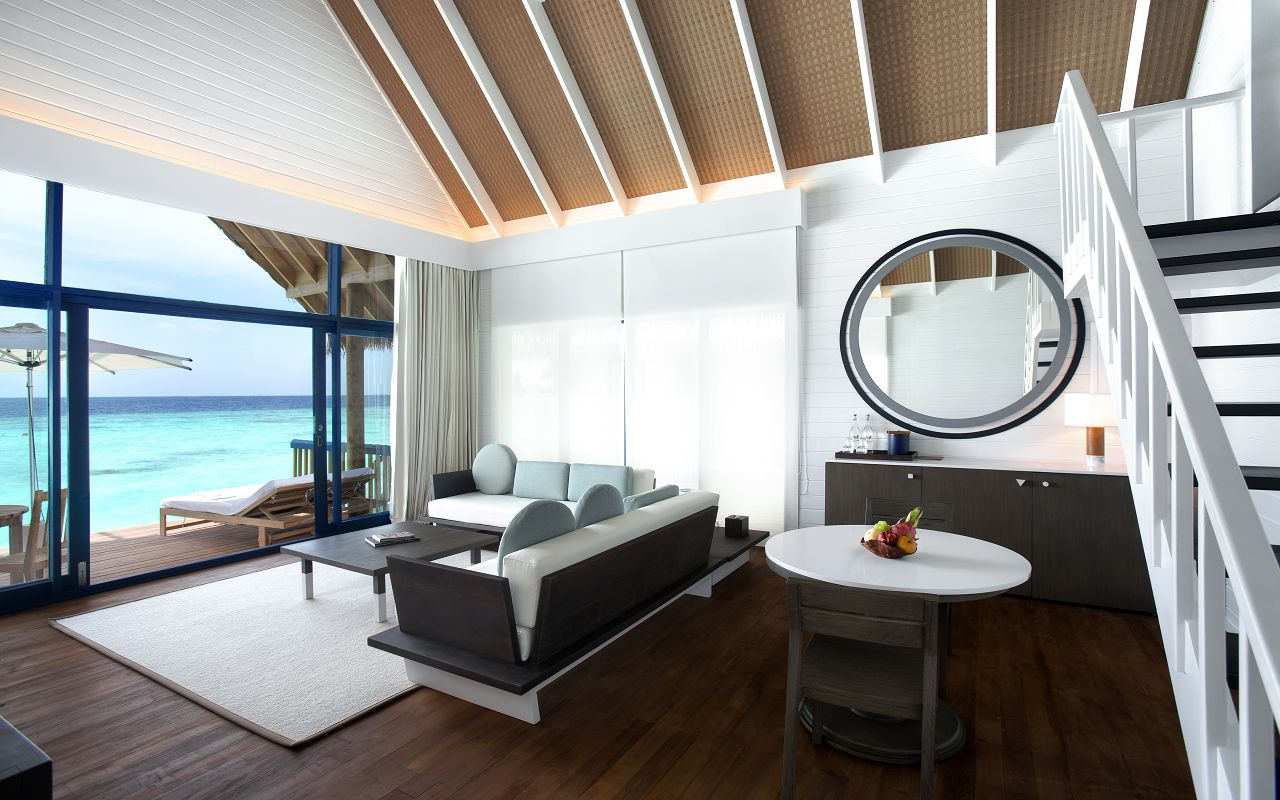 LS 20 Dhoni Loft Water Villa_Living Room_Looking out