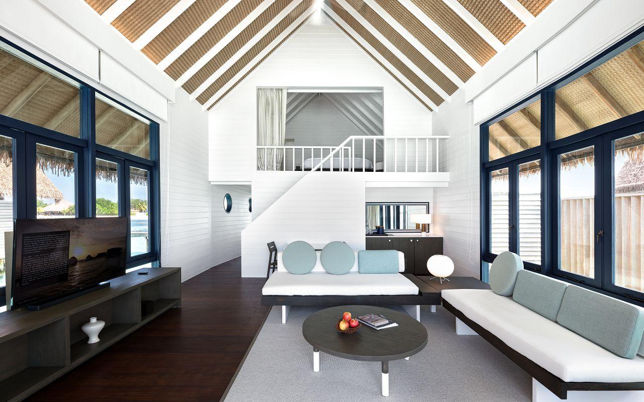 LS 20 Loft Water Villa_Living Room_Looking in
