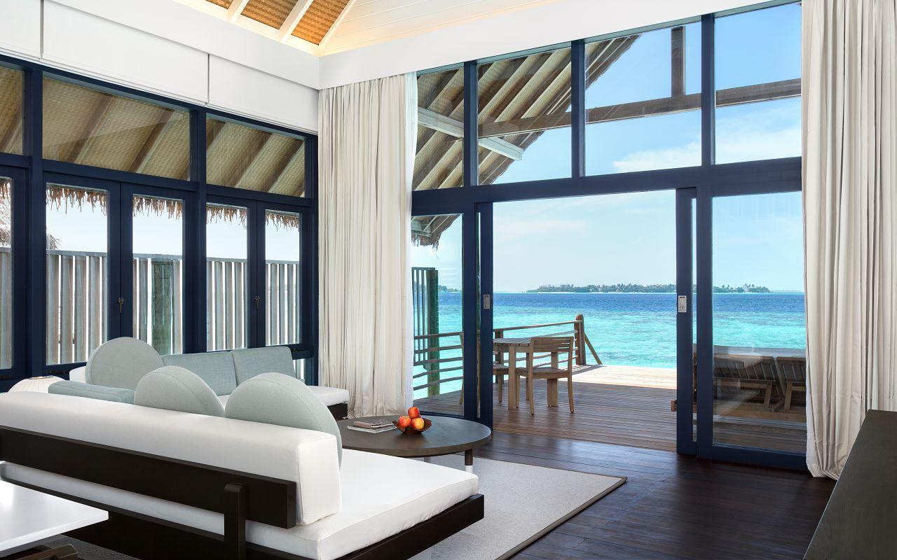LS 20 Loft Water Villa_Living Room_Looking out