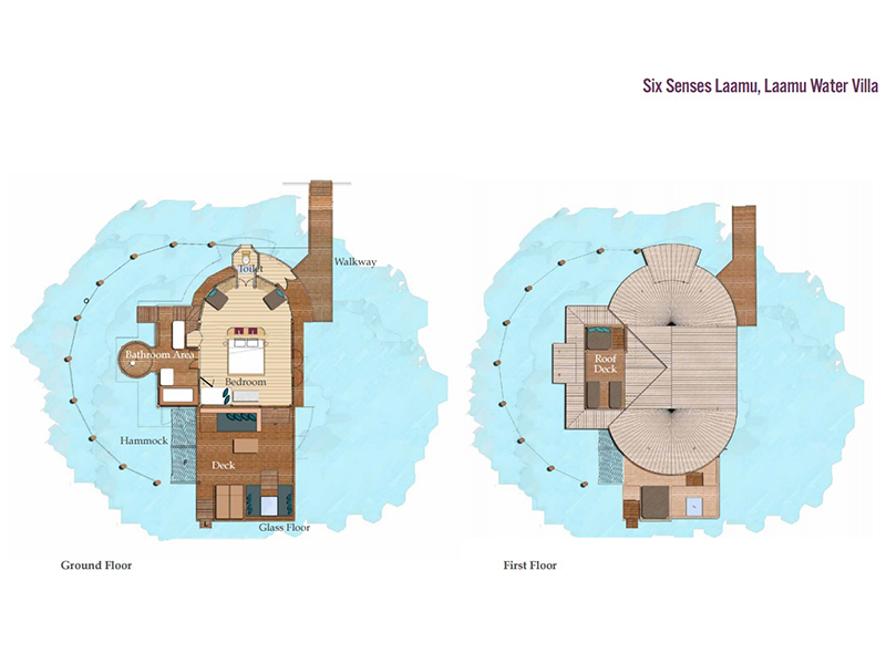 Laamu Water Villa-plan