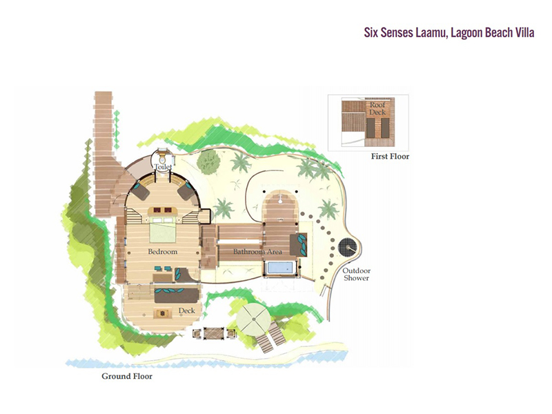 Lagoon Beach Villa-plan