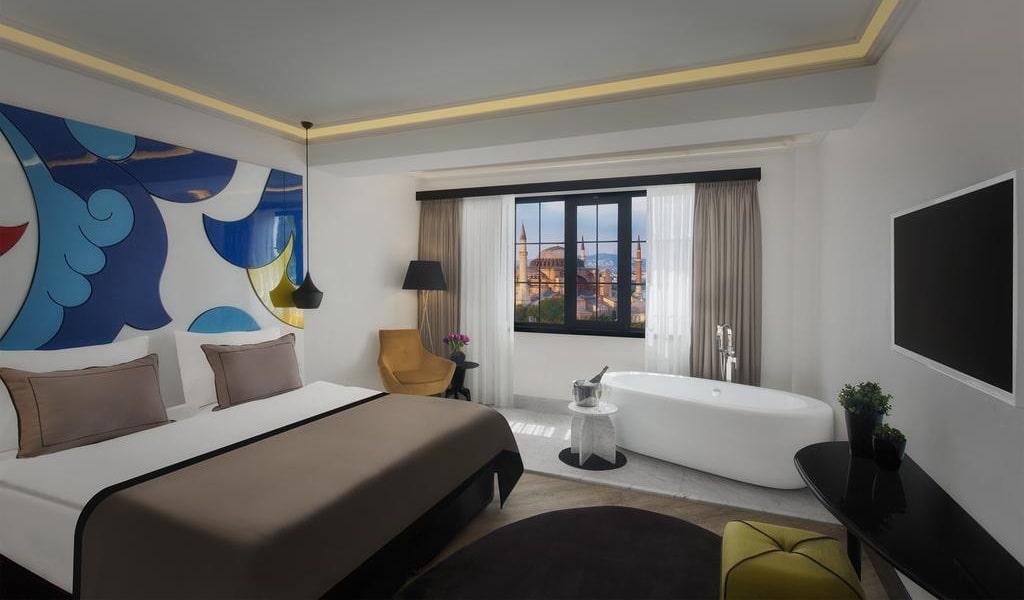 Loft Room with Hagia Sophia View 1-min
