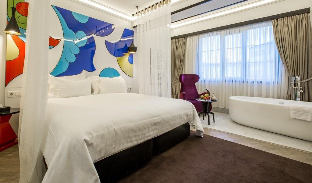 Loft Room with Hagia Sophia View 2-min