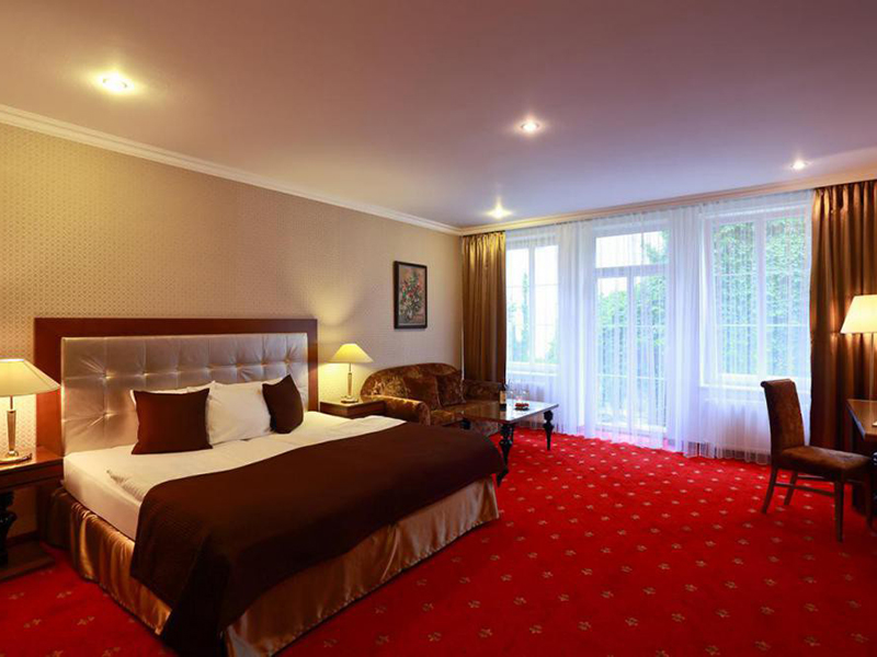 Lux Double Room- Lux Double Room Single Use