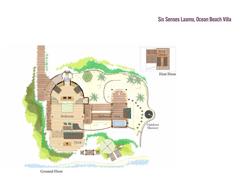 Ocean Beach Villa-plan