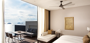 Oceanview Two Bedroom Pool Villa