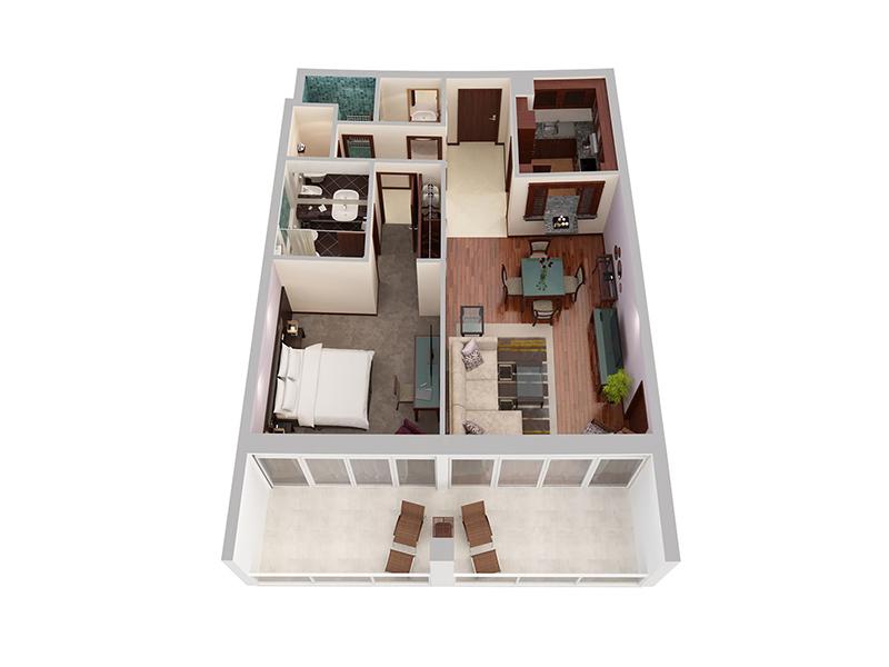 One Bedroom Privilege Creek Side6