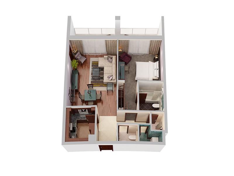 One Bedroom Privilege Creek Side7