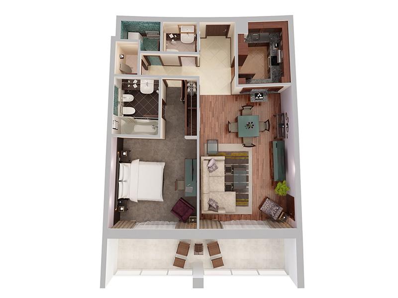 One Bedroom Privilege Creek Side8