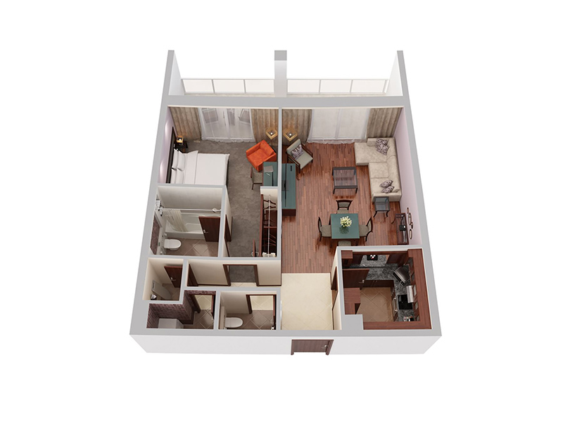 One Bedroom Privilege6