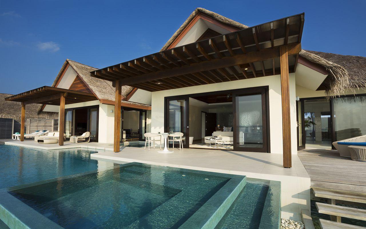 One Bedroom Water Pool Pavilion (5)