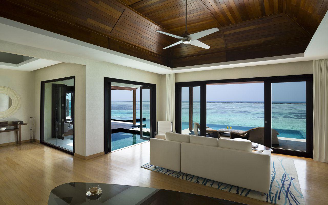 One Bedroom Water Pool Pavilion (7)