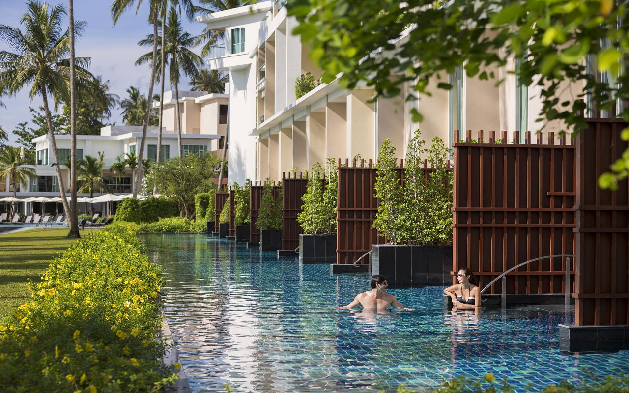 Pool Access from Andaman Loft Pool Suites re