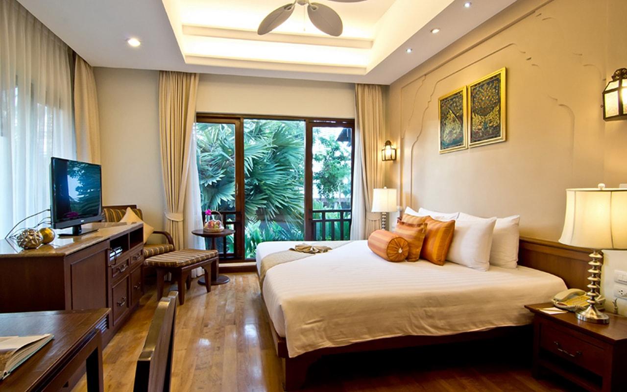 Pool Villa_Bedroom 1 Double bed-min