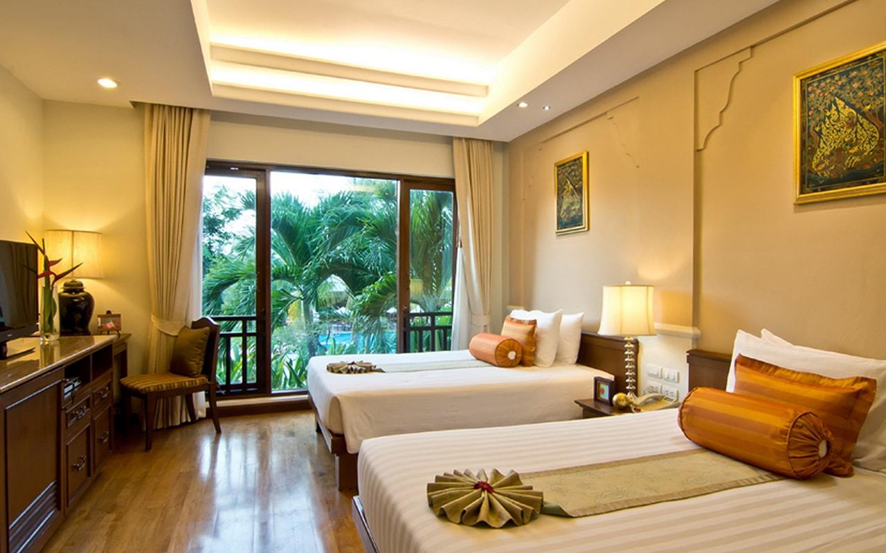 Pool Villa_Bedroom 2 Twin bed-min