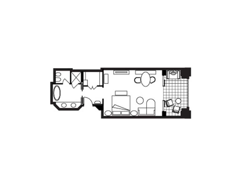 Premier Sea-View Room-plan