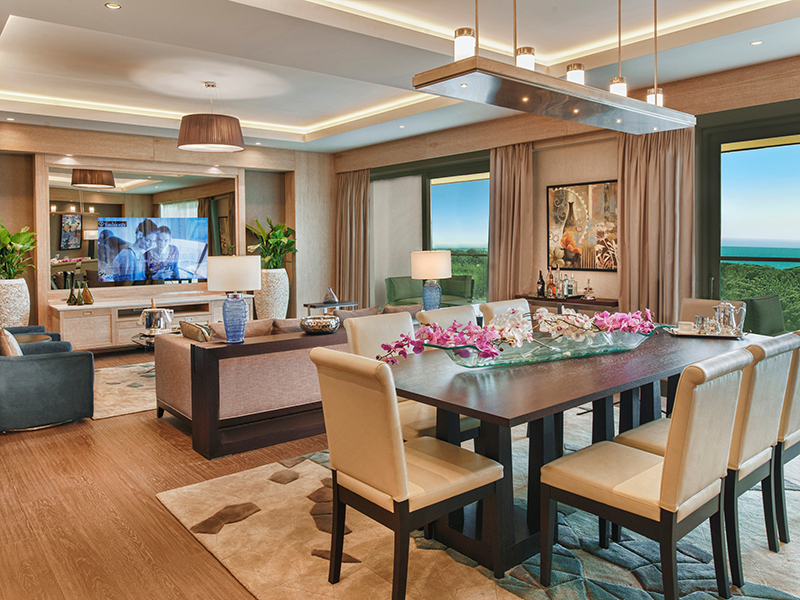 Presidential Suite-Living Room