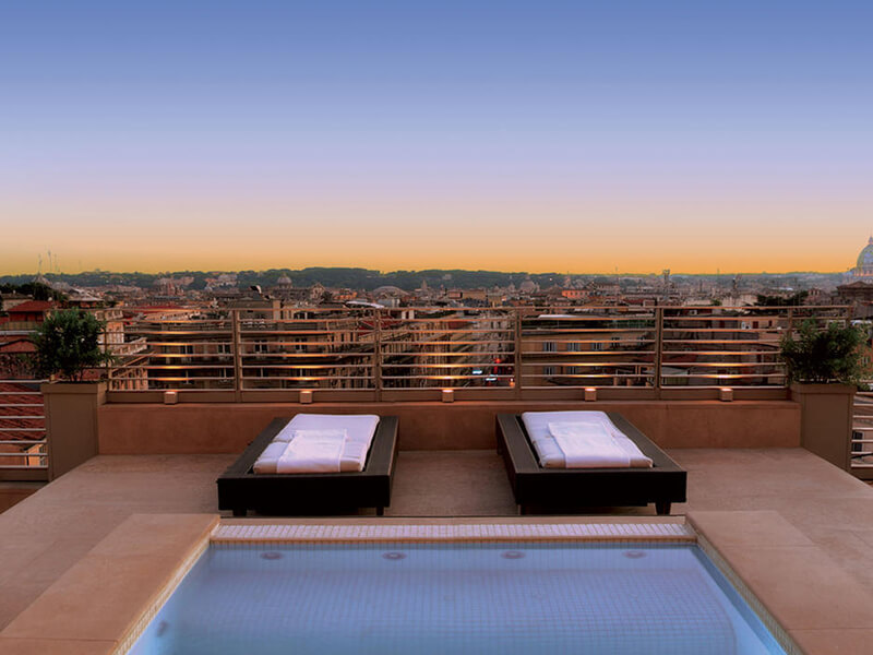 Presidential Suite Tritone with rooftop terrace4