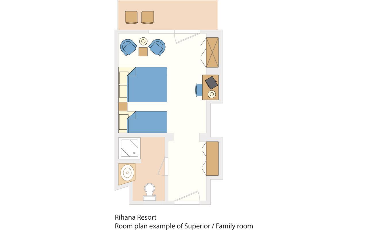 Rihana-Resort-Room-Plan-Superior-Family