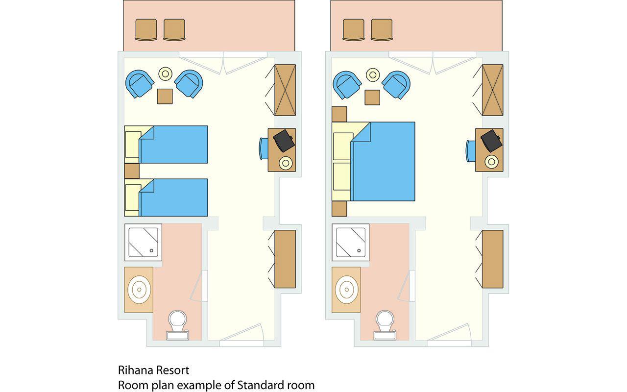 Rihana-Resort-Room-Plan-standard