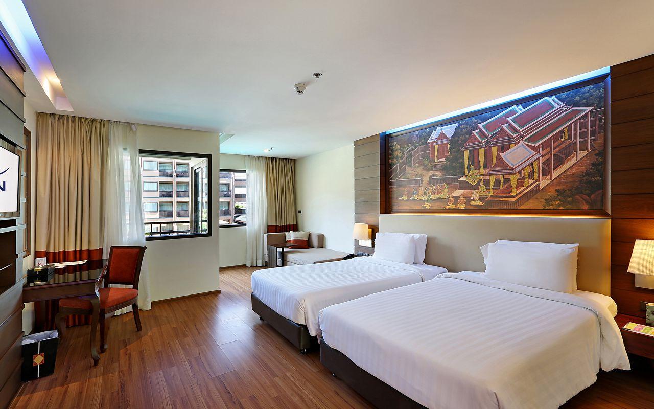 Room Deluxe Twin Beds TWA