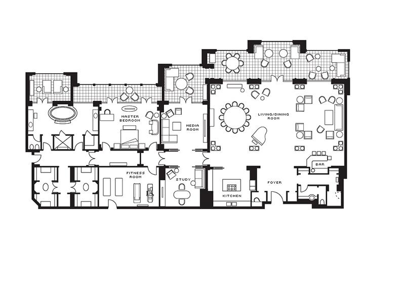 Royal Suite-plan