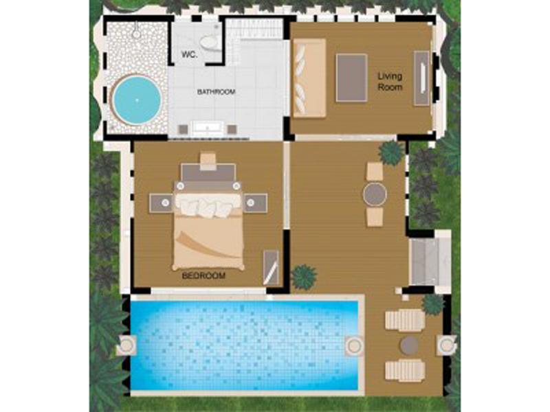 Sea Front Pool Villa6
