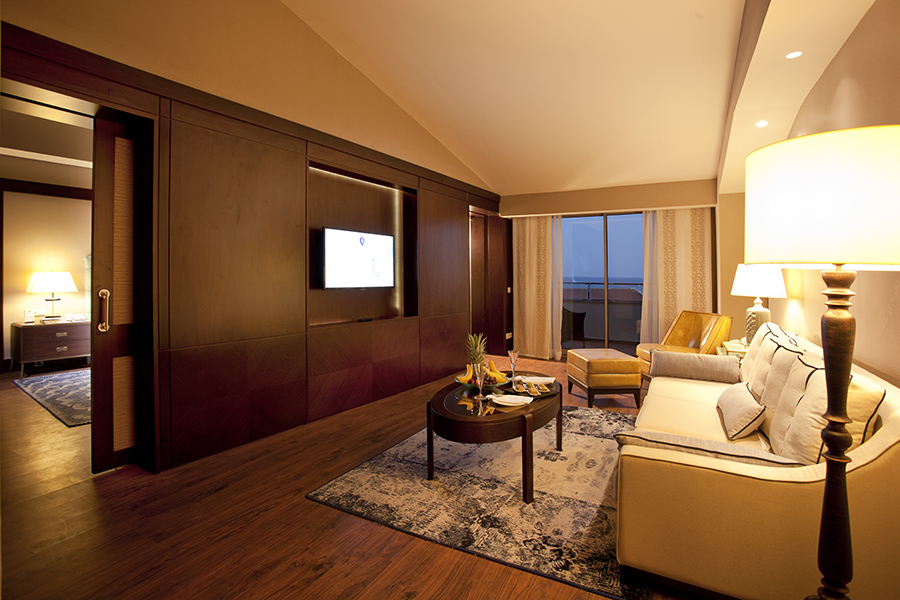 Sea View Suite- Living Room