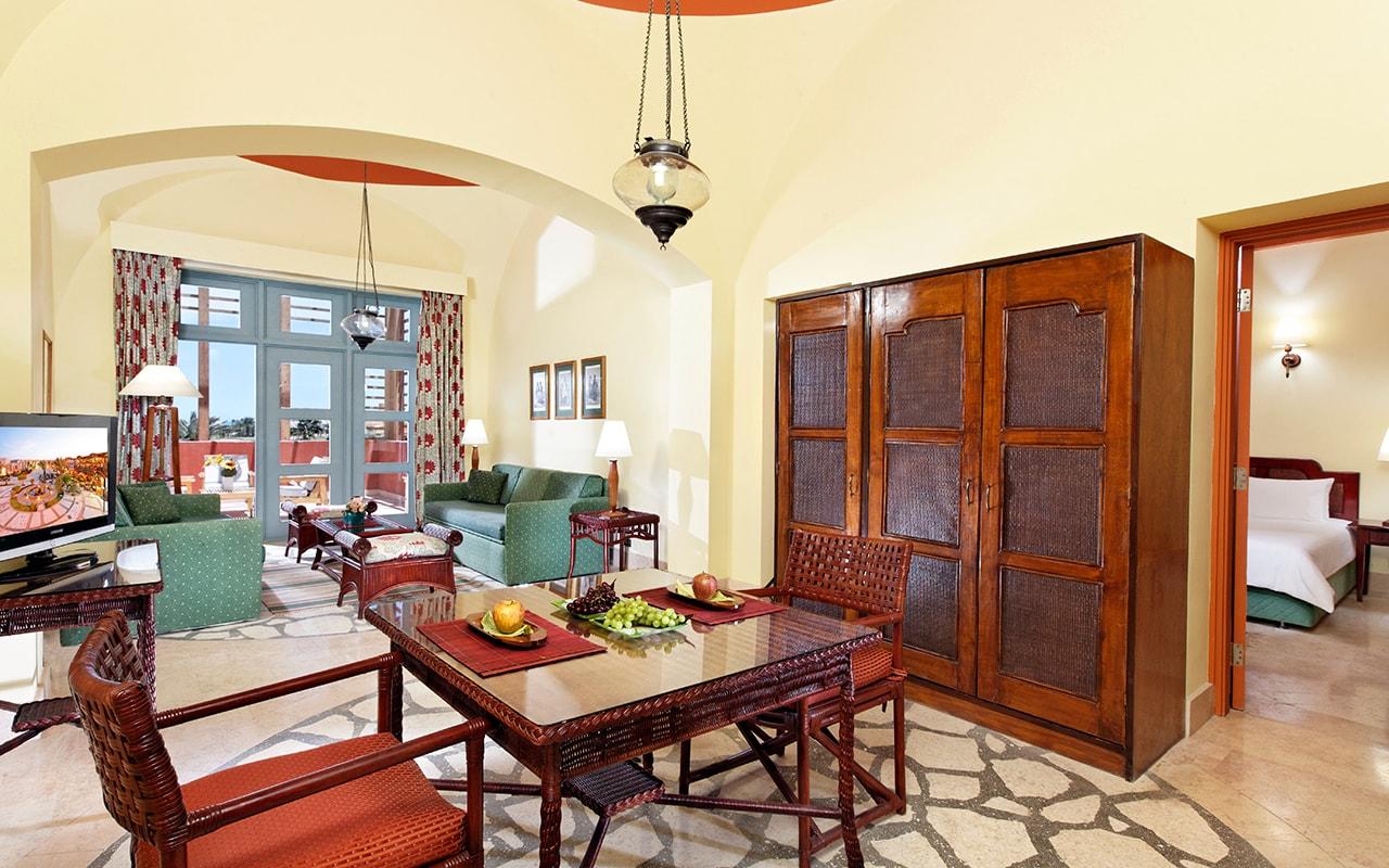SteigenbergGolf Resort El Gouna _ Apartment _ Living area-min